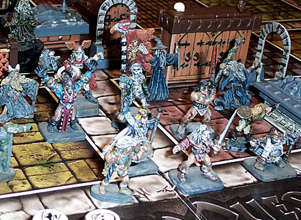 how to play dungeons and dragons board game